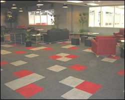 Commercial office carpeting